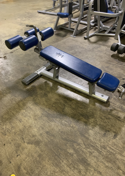 Life Fitness Signature Adjustable Decline Ab Bench (Used)