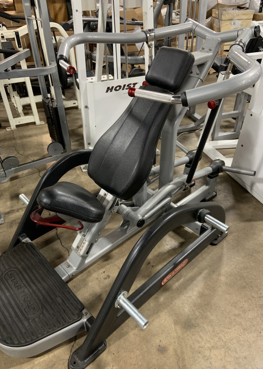 Star Trac Plate Loaded Leverage Shoulder Press (Used)