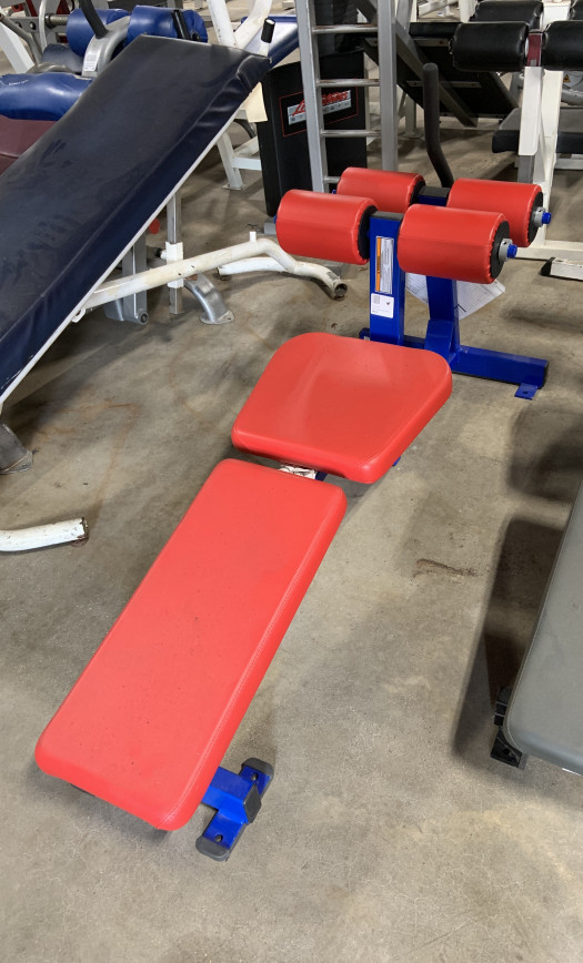 Hammer Strength Decline Ab Bench. (Used)