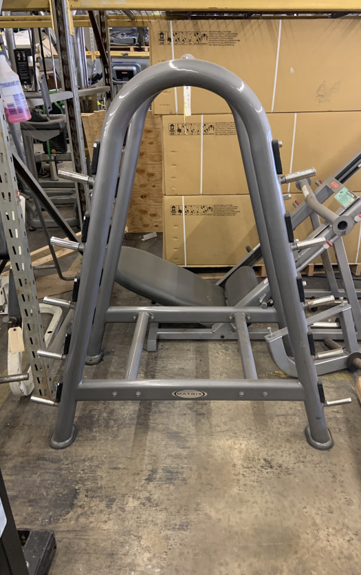 Matrix A Frame Barbell Rack (Used)