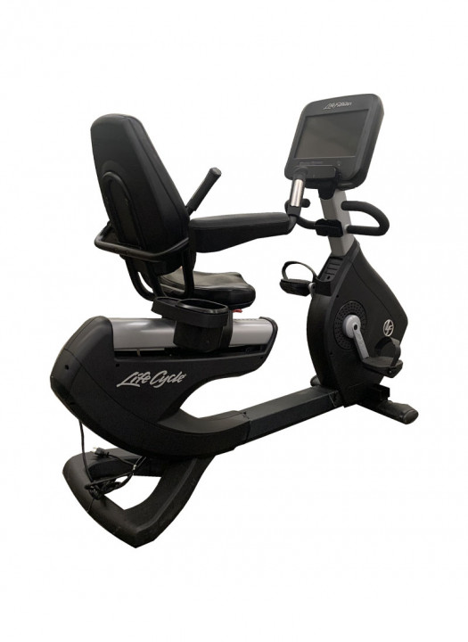 Life Fitness Discover SE Recumbent Lifecycle Exercise Bike