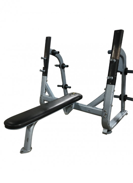 Commercial Olympic Flat Bench (Used)