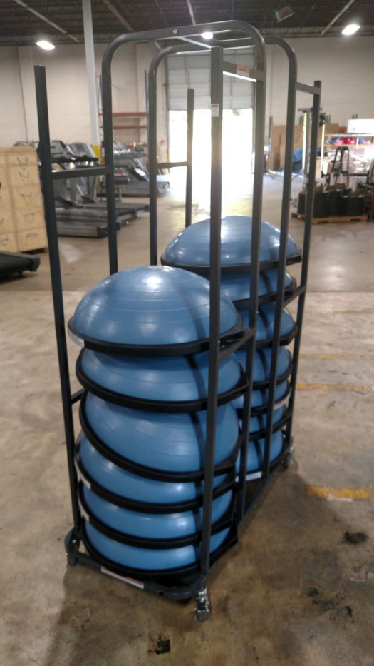 Power Systems Bosu Ball Rack