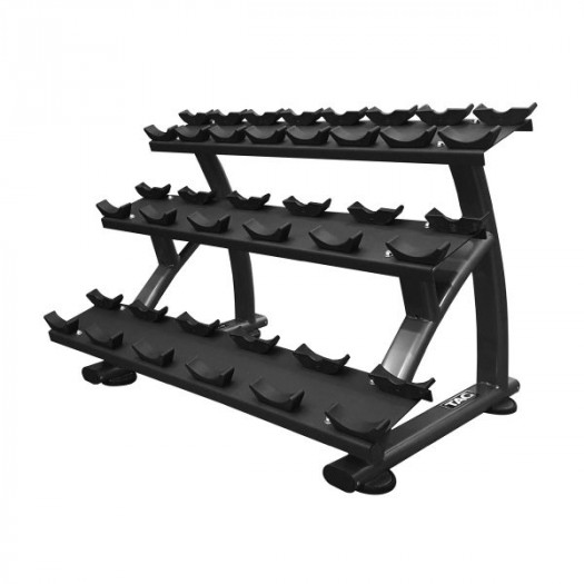 TAG 3-tier Horizontal Dumbbells Saddle Rack