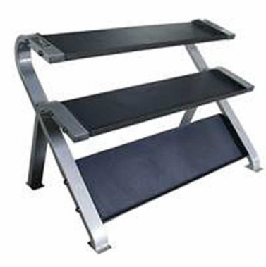 TAG 3 Tier Horizontal Dumbbells Rack - without saddles