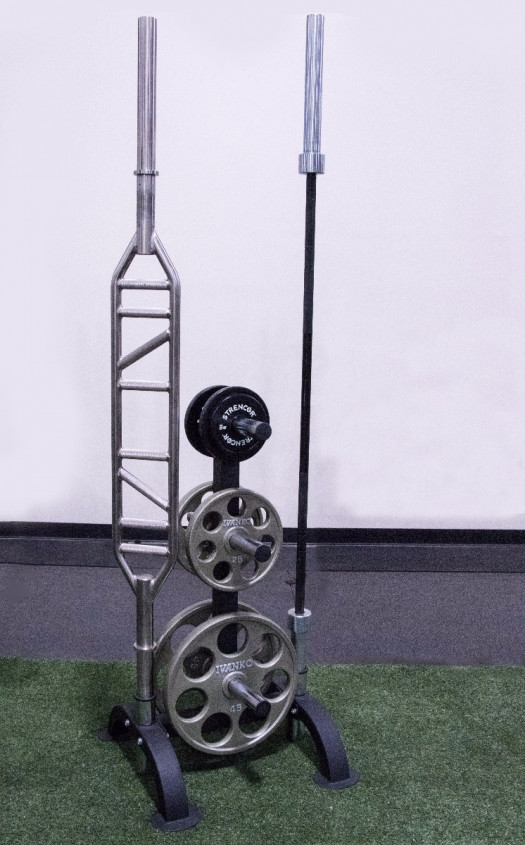 Strencor Vertical Plate Tree With 2 Bar Holders   Olympic Plates