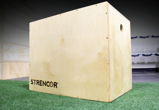 Strencor Wood Plyo Boxes