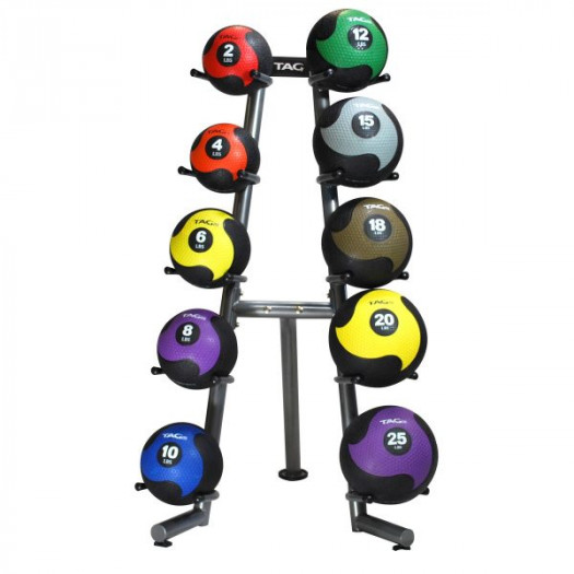 TAG Kettlebell / MedBall Rack - 10 ball