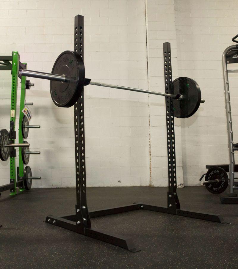 Used Squat Rack >> Strencor Basic Squat Stand | Carolina Fitness Equipment