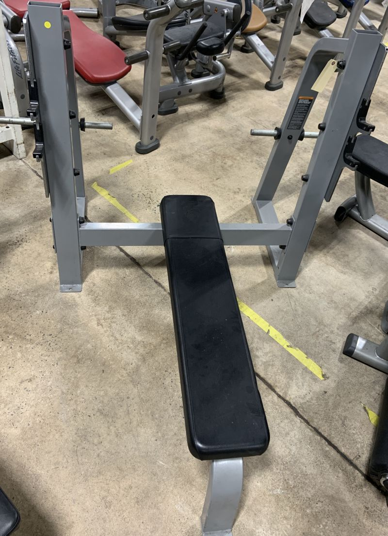 Precor Icarian Olympic Flat Bench Used