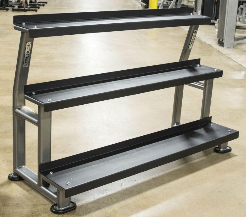 3 Tier Kettlebell Rack Gdkr50: Strencor Platinum Series 3 Tier Kettlebell Rack