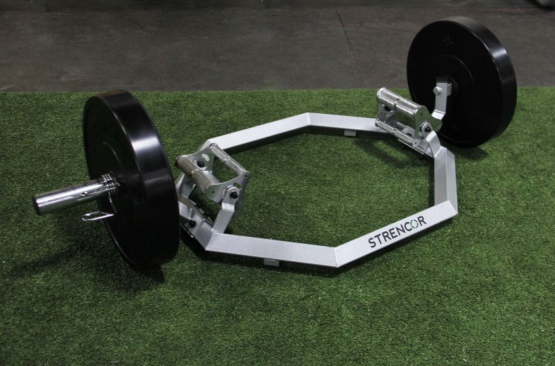 Strencor Multigrip Hex Barbell Carolina Fitness Equipment